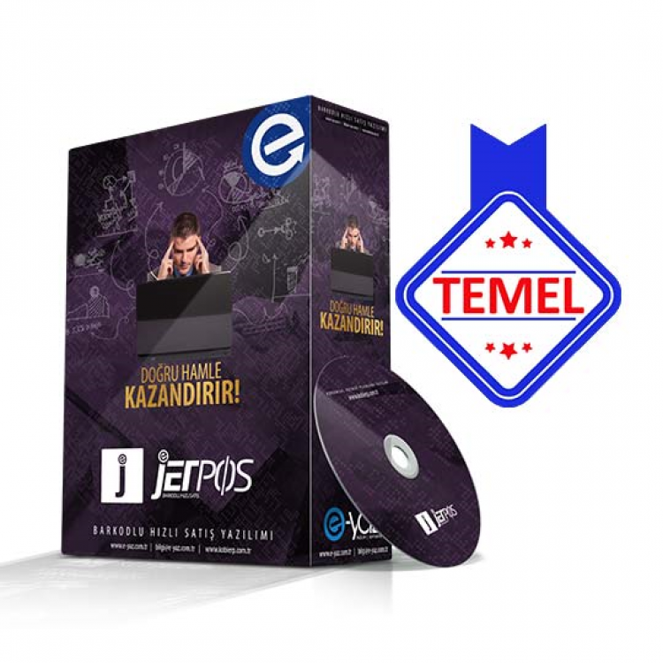 JETPOS TEMEL Paket Hızlı Satış Yazılımı