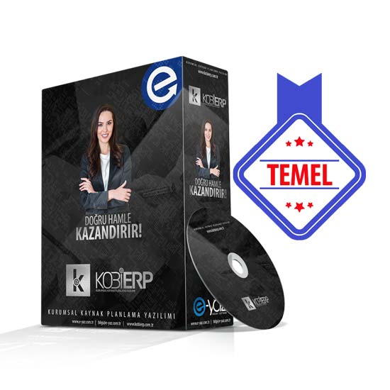KobiErp Temel Paket Erp Yazılımı