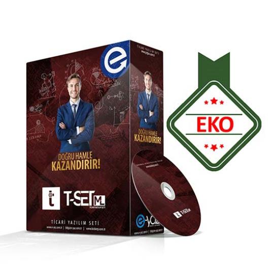 T-Set ML EKO Paket Ticari Yazılım