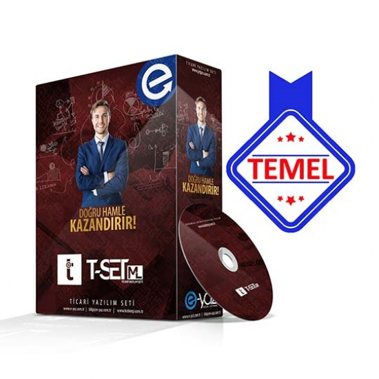 T-Set ML TEMEL Paket Ticari Yazılım