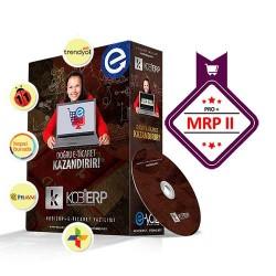 Tam Entegre Üretim MRP2 Paket E-Ticaret Yazılımı