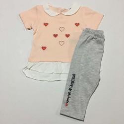 Kalpli 6 9M Kız Bebek Takım