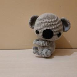 Amigurumi El Örgüsü Koala Oyuncak