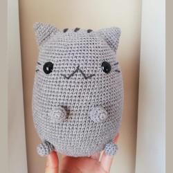 Amigurumi El Örgüsü Totoro Oyuncak